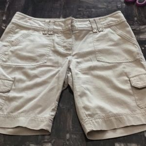 White House Black Market Bermuda Shorts